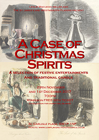 A Case of Christmas Spirits Poster